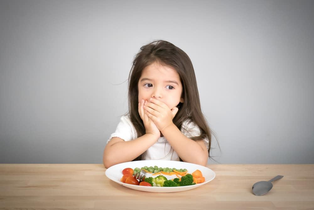 cara membuat nafsu makan anak bertanbah